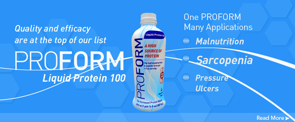 Proform Protein treats Sarcopinia